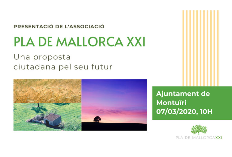 Es presenta l'associació Pla de Mallorca XXI
