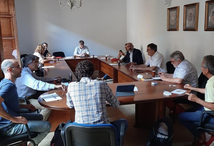 Ens reunim amb el conseller de turisme i la Mancomunitat del Pla de Mallorca