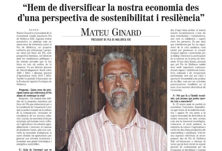 Entrevista Mateu Ginard a Fora Vila Verd