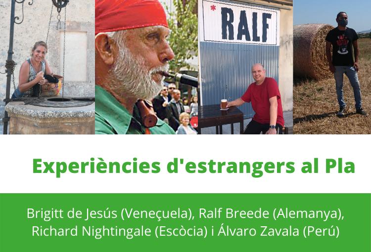 Experiències d'estrangers al Pla de Mallorca